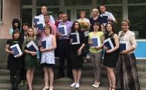 Вручение дипломов о высшем образовании выпускникам бакалавриата, группы У-258/5,  У-358/4, Э-218/5, Э-318/4