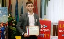 Студент МЭБИК Дмитрий Пигорев - именной стипендиат Администрации города Курска!