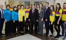 Главный специалист по работе со студентами МЭБИК Наталия Свиридова – участница встречи с Губернатором Курской области