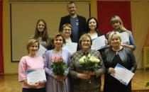 Вручение сертификатов  участникам семинаров для субъектов  малого и среднего предпринимательства