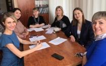 Новые представительницы в молодежном совете СЖР Курской области